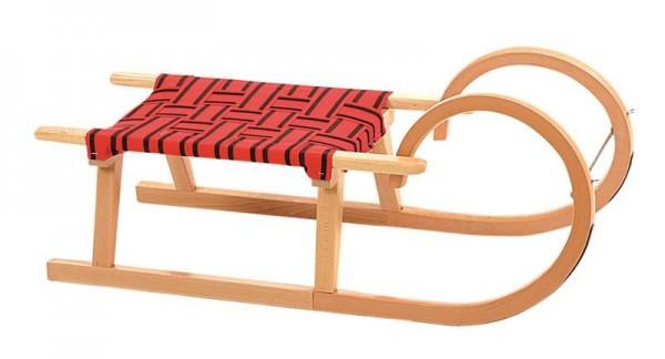 Holz Rodel , Buche , 90kg/90cm
