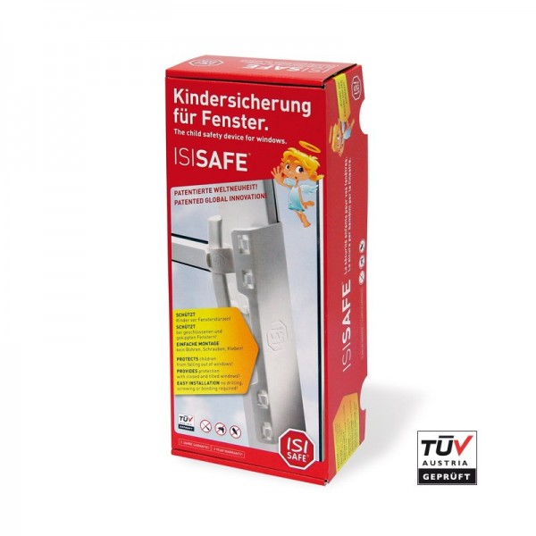 Isi Safe Kindersicherung Fur Fenster Balkon Und Terrassenturen