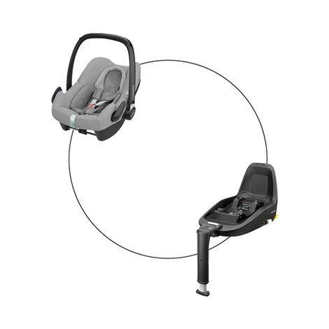 Maxi Cosi Rock + FamilyFix One i-Size Set, Nomad Grey