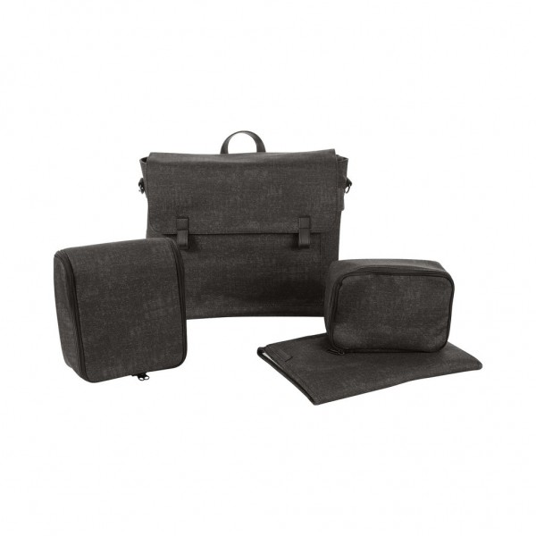 Wickeltasche Modern Bag, Nomad Black