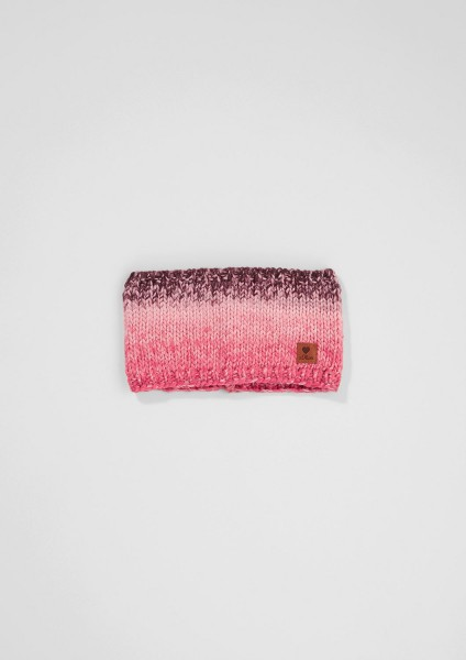 Schlauchschal,light red knit