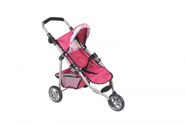 Puppen-Buggy, 3 Rad ,Circle/Hot Pink